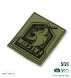 Divisa verde suave de encargo del PVC del club del ejército para el emblema (XDP-01)