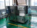 Linha de produção pura automática cheia enchimento da água de 5 galões da máquina