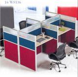 Cubículo modificado para requisitos particulares Worksation moderno de la oficina de la partición de la oficina de los sitios de trabajo de la oficina
