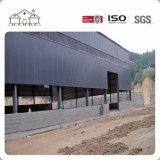 Edificio de marco de acero prefabricado y edificio de la contracción de la estructura de acero