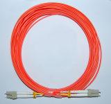 Cuerdas de corrección de fibra óptica de Om1 Om2 con Ce/RoHS Certicate