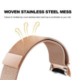 Fashionable Rose Gold Mulheres Assista a Correia de Pulso 20mm Milanese Engrenagem para S2