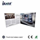 Брошюра приветствию Card/LCD LCD видео- видео- для рекламы
