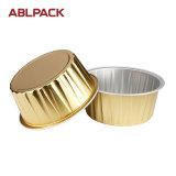 高品質のアルミホイルのカップケーキのための円形のベーキングコップ