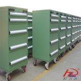 Carrinho de ferramentas de armazenamento de depósito de aço