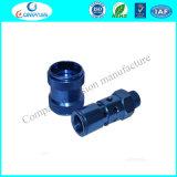 Connecteur de anodisation d'ajustage de précision de pipe d'alliage d'aluminium de prix usine
