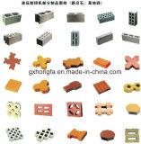 구획 기계를 기계로 가공한 기계에게 구체적인 벽돌에 콘크리트 블록을 형성하는 비산회 벽돌