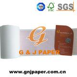 Papel de carta médico de la buena calidad en red verde y roja
