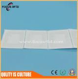 Обломок Кодего ярлыка NXP u бумаги UHF RFID цены по прейскуранту завода-изготовителя Китая подгоняет размер