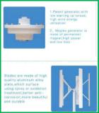 Laminatoio di energia 500W 12V/24V Maglev di asse del vento di turbina verticale libero del generatore/vento per la casa