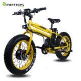Do pneu gordo Integrated da montanha de 20 rodas da polegada bicicleta elétrica