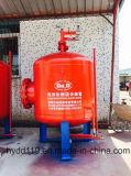 供給の泡の解決のための縦のぼうこうの火の泡タンクシステム