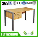 Tabela de madeira do professor da mobília de escritório da escola com gabinetes (SF-04T)