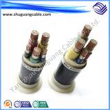 Корпус из негорючего материала/куб ленты показаны/доспехи и ПВХ изоляцией/PVC пламенно/кабель управления