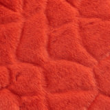 Alto tessuto a riccio lungo della pelliccia artificiale della pelliccia del Faux del mucchio