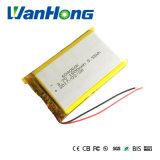 3.7V 1500mAh 604060 Lithium-Plastik-Batterie für MP3 DVD