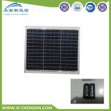 comitato solare del modulo solare policristallino 30W con 4 righe e 25 anni di corso della vita