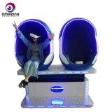 9d Vr 360 voar simulador de cinema 1D/2D/3D Vr Motion cadeira com leitores de dupla forma ovo para o parque de diversões