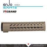 10インチのPicatinnyの柵のKeymod Handguardカーボンファイバーの合成物 (CFC)