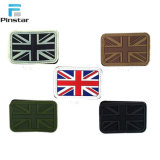 Flard van pvc van de Vlag van Union Jack het Verenigd Koninkrijk van het moreel het Militaire Rubber