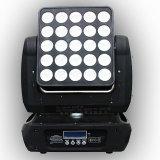 Matrix-beweglicher Hauptblinder des China-Stadiums-Beleuchtung-Lieferanten-25*15W LED