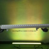 24 피스 10W RGBW 옥외 LED 벽 세척 점화