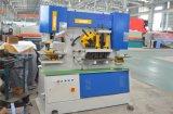 Máquina do trabalhador do ferro Q35y-25, Ironworker hidráulico, máquina de perfuração do furo