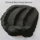 Высокое качество черного алюминия с плавким предохранителем черный корунд оксида алюминия черного цвета