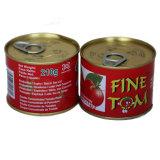 En bonne santé organique 70g de pâte de tomate en conserve
