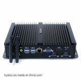 Mini PC Fanless con gráficos integrados Intel Core i3 4010U con 2 VGA RS 232 HTPC