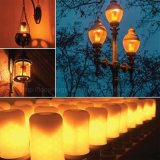 Flackernde Atmosphären-dekorative Lampen-Birne des Feuer-E26/E27