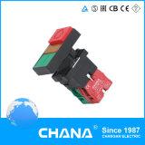 Interruptor de pulsador CB4 (botón principal doble con la lámpara)