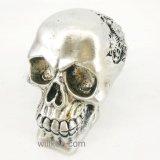 Estatuilla blanca del cráneo de la resina del regalo de Víspera de Todos los Santos para la decoración de la barra