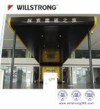 Willstrong Acm für Pizza-System Kfc Gaststätte-Fassade-Dekoration