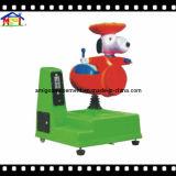 レッサーパンダの遊園地の屋内運動場の子供のアーケード・ゲームの乗車