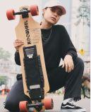 Télécommande sans fil Kooboard Koowheel 4 roues de skateboard électrique avec moteur double, LG Batterie chaud, vitesse max 45km/h