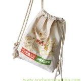 Baumwollsegeltuch-Einkaufen-Anmerkungs-Beuteldrawstring-Beutel