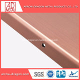 Revêtement en poudre Anti-Seismic haute résistance panneau architectural en métal pour murs rideaux// le revêtement de façade
