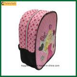 Karikatur-rosafarbenen Rucksack-Schule-Beutel für kleines Mädchen schneiden