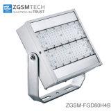 세륨 RoHS 콜럼븀 증명서를 가진 싼 가격 80W LED 투광램프