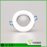 MAZORCA ahuecada 21W LED Downlight de la lámpara del panel de techo de Dimmable LED