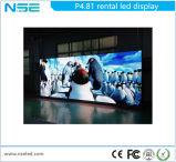 P3.91, P4.81, schermo esterno locativo della visualizzazione di LED di colore completo P5.95 LED (CE, RoHS)