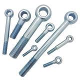 O zinco revestiu o RUÍDO 444 do parafuso de olho do balanço do aço inoxidável de aço de carbono galvanizado