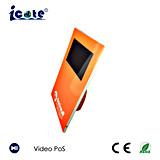 POS видеоего LCD 7 дюймов как раз имеет один скоросшиватель и с Stander