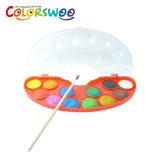 De kunst levert de Cake van de Kleur van het Water van 12*3.0cm, Aquarelle, W1230s