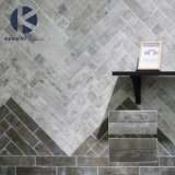 Farben-Form-Oberflächen-rustikale glasig-glänzende Porzellan-Wand-Fliese des Foshan-Lieferanten-70X280mm Brown