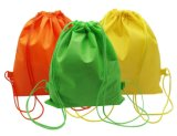 Drawstringtote-Gurt-Sack-Rucksack-Beutel Cinchbag, wasserdichtes, modisches Grün