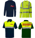 Classe de alta visibilidade2 T Shirt Segurança reflexivo na fábrica