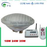 Светильник светлого пятна плавательного бассеина RGB PAR56 СИД