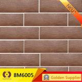 azulejos rústicos de la mirada del 15X80cm del suelo de cerámica de madera del azulejo (8M6005)